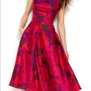 Adrianna Papell tea dress 💜❤️👗